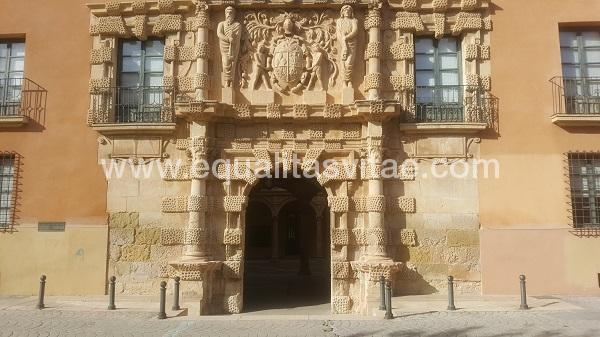 imagen principal de AYUNTAMIENTO DE ALMANSA. PALACIO DE LOS CONDES DE CIRAT