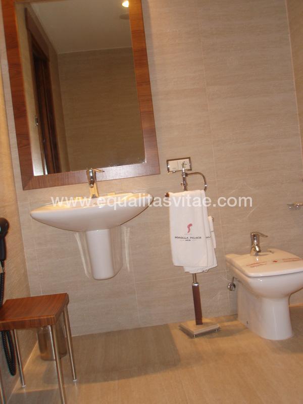 Hotel sorolla palace sercotel hoteles accesible en for Lavabos para minusvalidos