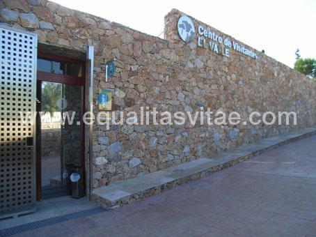 imagen principal de CENTRO DE VISITANTES EL VALLE. PARQUE EL VALLE Y CARRASCOY