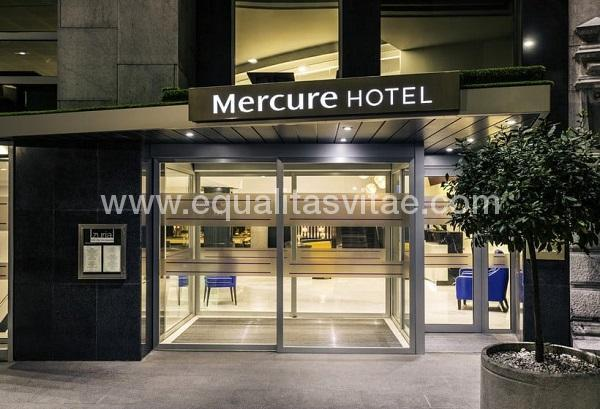 Hotel mercure bilbao jardines de albia accor hoteles for Hotel husa spa jardines de albia