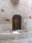 imagen de Entrada a Museo de la Verdura por Cuesta de la Catedral con rampa portátil.