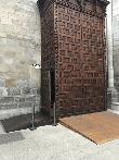 imagen de Acceso a través de rampa al interior del Templo.