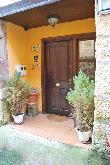 imagen de Entrada accesible a la casa rural de Cabrera, Burgos.