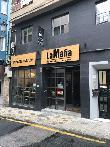 imagen de Entrada al Restaurante La Mafia se sienta a la mesa, Cáceres.