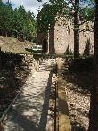 imagen de Punto 4 de itinerario Garcipollera. Rampa de acceso hasta mirador de Santa María de Iguaciel
