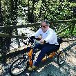 imagen de Handbike para realizar senda del oso accesible.