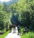 imagen de Vía Verde Carrilet I. Vía Verde accesible discapacitados Girona.
