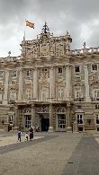 imagen de Palacio Real de Madrid, vista de la entrada principal. Fotografía cedida por usuario.