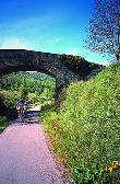 imagen de Via Verde del Ferro i carbo. Vía verde accesible para discapacitados en Girona.