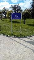 imagen de Itinerario accesible hacia Plaza de España. Parque Europa en Torrejón de Ardoz, Madrid.