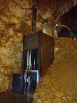 imagen de Plataforma elevadora para acceder al último tramo de la visita a la Cueva del Soplao.