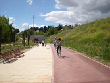 imagen de Vía Verde de la Gasolina. Vía Verde accesible discapacitados Madrid.