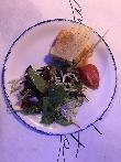 imagen de Rico plato, elaborado con mimo y a fuego lento en Restaurante Mano Lenta, Vitoria.