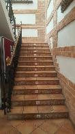imagen de Escaleras iluminadas en tabica para indicar cambio de nivel. Museo de la Celestina.La Puebla de Montalbán, Toledo.
