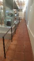 imagen de Rampa interior en Museo del Mercurio. Parque Minero de Almadén, Ciudad Real.