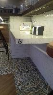 imagen de Barra adaptada. Restaurante Esplore, Madrid.