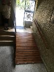 imagen de Rampa interior de acceso. Casa acogida Nuestra Señora de Belén, Carrión de los Condes, Palencia.