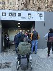 imagen de Entrada accesible. Sagrada Familia, Barcelona.