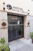 imagen de Entrada al Hotel Real de Illescas. Foto tomada de https://hotelrealillescas.es