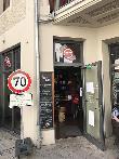 imagen de Fachada exterior de tienda accesible Hepa Café.