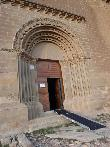 imagen de Acceso a la ermita de San MIguel de Foces, Ibieca.