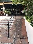 imagen de Acceso a través de rampa. Parador de Ceuta.