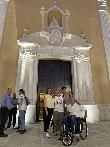 imagen de Fachada de la  iglesia Santa María de África, Ceuta.