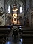imagen de Interior Basílica. Castillo de Javier.