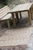 imagen de Mesa accesible en Sendero de Santa Elena