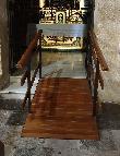 imagen de Rampa de acceso a capilla. Iglesia de la Asunción de Hellín.