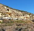 imagen de Pasarela que recorre el yacimiento. Tolmo de Minateda, Hellín.