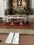 imagen de Rampa de acceso a capilla. Santuario de Nuestra Señora de la Caridad, Illescas.