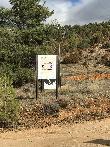 imagen de Cartel indicativo el Mirador accesible del Alto Tajo en Zaorejas.