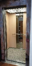 imagen de Itinerario accesible a través de ascensor. Oficina de turismo y C. de I. de Fuencaliente.