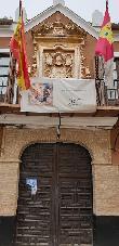 imagen de Casa Solariega con el escudo heráldico. Almodóvar del Campo.
