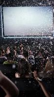 imagen de Sala de proyección de vídeo en 4D, los visitantes sienten en su piel la caída de copos de nieve.Villa Lucía. Laguardia.
