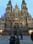 imagen de Fachada principal de la Catedral de Santiago de Compostela.