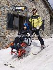 imagen de Esqui adaptado para personas con movilidad reducida