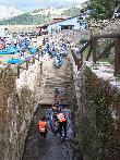 imagen de Acceso al río en el descenso del Sella Adaptado