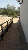 image of Rampa accesible en Jardín Botánico El Aljibe