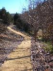imagen de Tramo del sendero accesible de la Fuentona