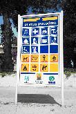imagen de Panel informativo de Playa de Alcudia. Mallorca