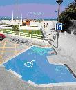 imagen de  Plazas de aparcamiento reservadas para personas con discapacidad en Playa de Alcudia. Mallorca