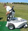 imagen de Golf adaptado para personas con discapacidad