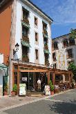 imagen de Vista exterior y terraza de Bar Restaurante Los Lagos