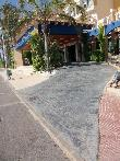 imagen de rampa de acceso a zona recepción
