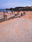 imagen de Rampa que da acceso a pasarela de playa accesible El Camello