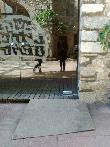 imagen de Rampa de acceso en zonas con desniveles
