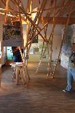 imagen de Exposición en la planta baja del edificio