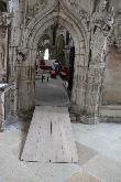 imagen de Rampa de madera para subir al altar mayor